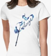 Always magic wand spell (blue) Women's Fitted T-Shirt