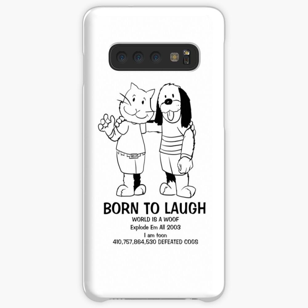 BORN TO LAUGH Case & Skin for Samsung Galaxy