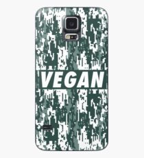 Vegan - Urban camouflage  Case/Skin for Samsung Galaxy
