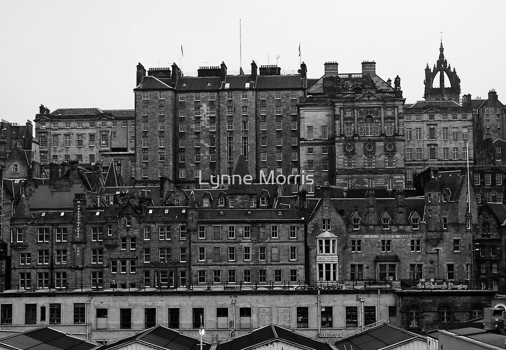 Layers Of Edinburgh by Lynne Morris