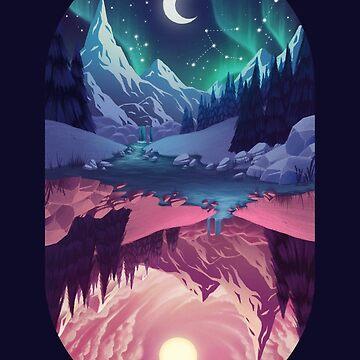 Upside down - night by FranceMSX
