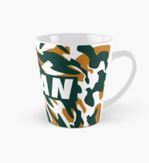 Vegan - Orange camouflage Mug long