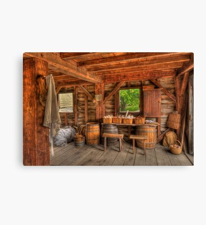Days Gone By - Mill  Canvas Print