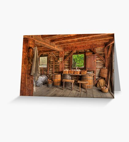 Days Gone By - Mill  Greeting Card