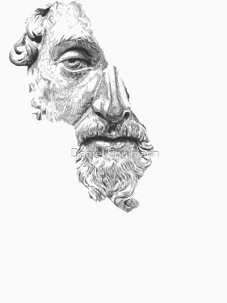 MARCUS AURELIUS ANTONINUS AUGUSTUS / black and white by danielcoulmann
