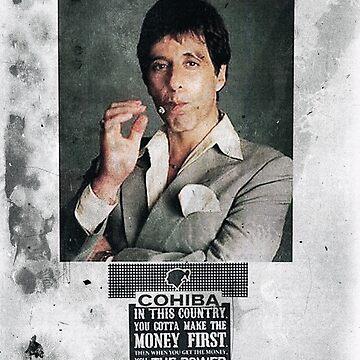 Cuban Cigar Tony Montana by benbdprod