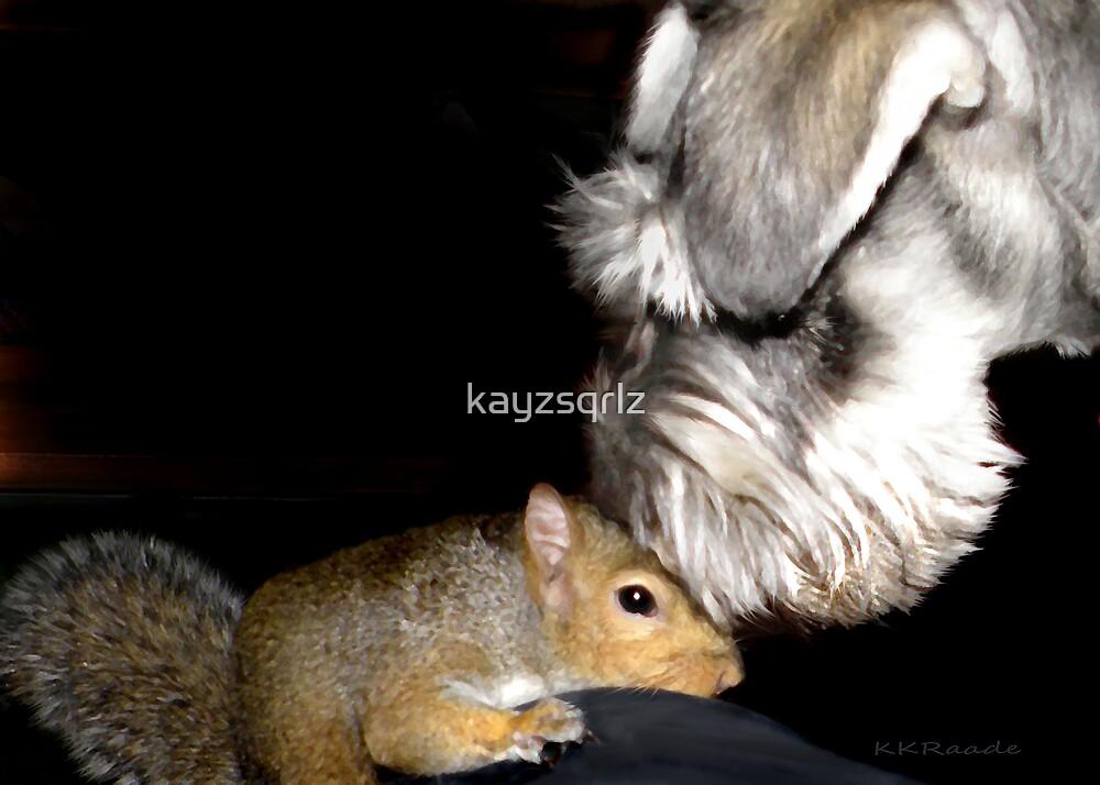 May I Kees You Face? by kayzsqrlz