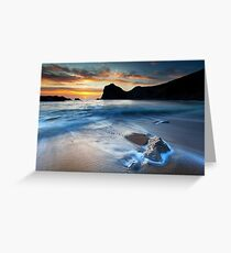 Man O War Bay Greeting Card