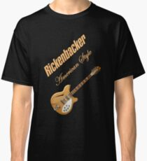 Rickenbacker Natural 12s American Style  Classic T-Shirt