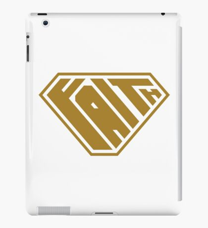 Faith SuperEmpowered (Gold) iPad Case/Skin