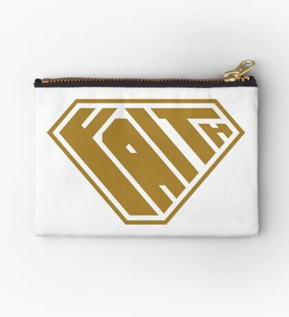 Faith SuperEmpowered (Gold) Studio Pouch