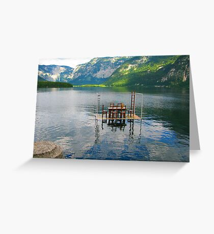 Eat on Water Greeting Card