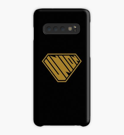 Union SuperEmpowered (Gold) Case/Skin for Samsung Galaxy