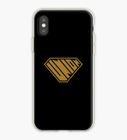 Union SuperEmpowered (Gold) iPhone Case