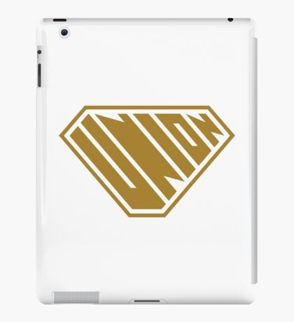 Union SuperEmpowered (Gold) iPad Case/Skin