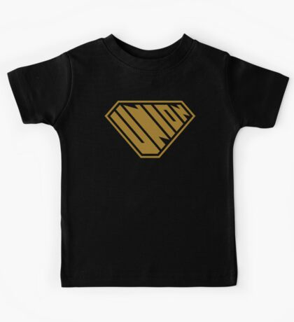 Union SuperEmpowered (Gold) Kids Clothes