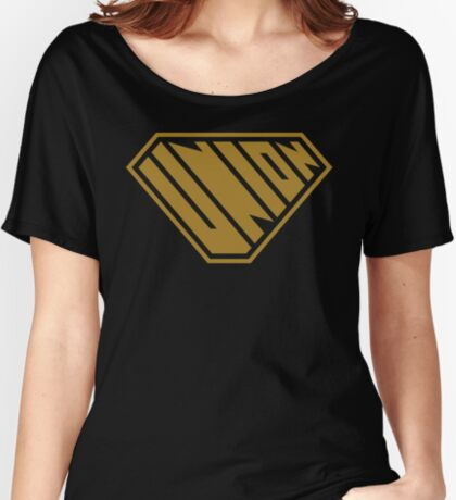 Union SuperEmpowered (Gold) Women's Relaxed Fit T-Shirt