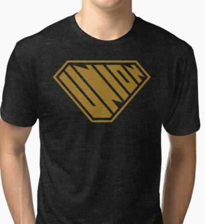 Union SuperEmpowered (Gold) Tri-blend T-Shirt