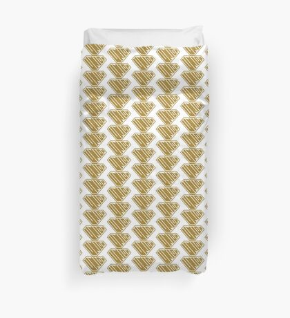 Union SuperEmpowered (Gold) Duvet Cover