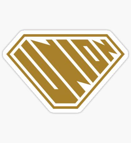 Union SuperEmpowered (Gold) Sticker