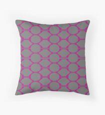 design Blocks, cute pink Throw Pillow
