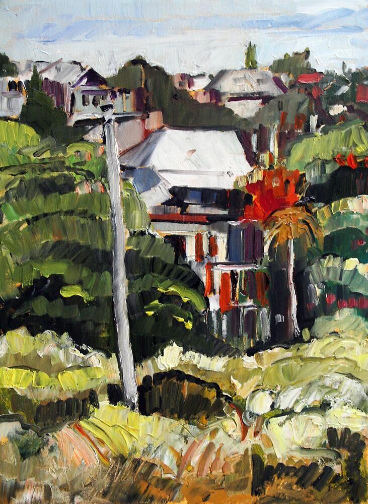 Windsor Hillside by Paul  Milburn