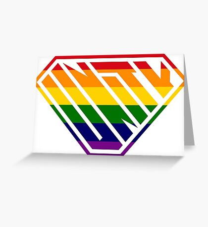 Unity SuperEmpowered (Rainbow) Greeting Card