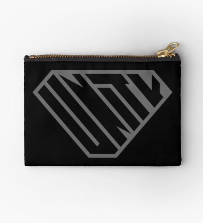 Unity SuperEmpowered (Black on Black) Zipper Pouch