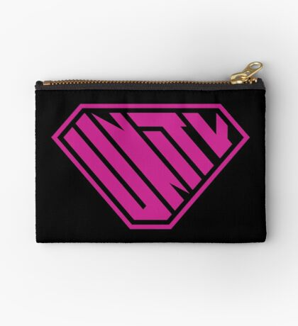 Unity SuperEmpowered (Pink) Zipper Pouch