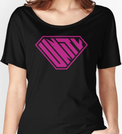 Unity SuperEmpowered (Pink) Relaxed Fit T-Shirt