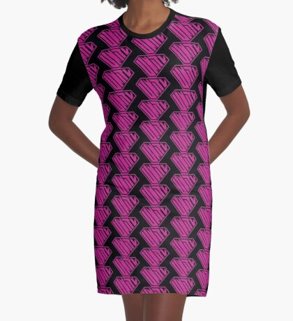Unity SuperEmpowered (Pink) Graphic T-Shirt Dress