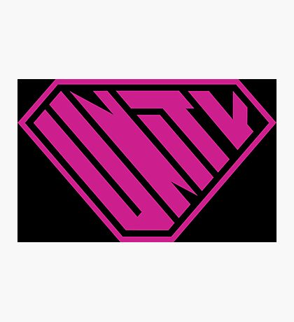 Unity SuperEmpowered (Pink) Photographic Print