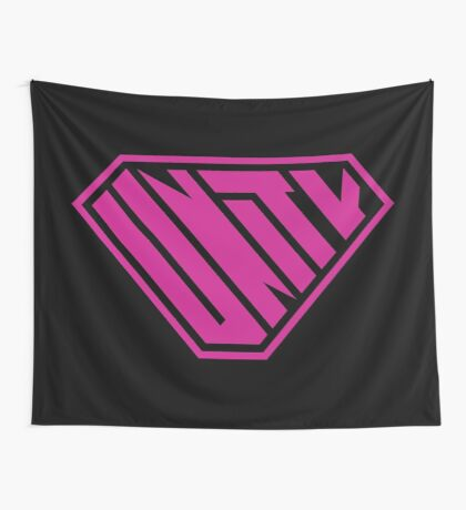 Unity SuperEmpowered (Pink) Wall Tapestry