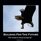 Bald Eagle Motivational Poster by NaturePrints