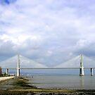 Vasco de Gama bridge, Lisboa. by naranzaria