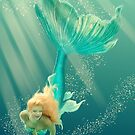 Türkis-Meerjungfrau von Eva Nev