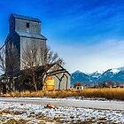 The Charlo (Montana) Elevator by Bryan D. Spellman