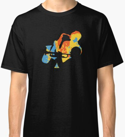 Saxophone and Trumpet Player Classic T-Shirt