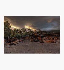 Millgrove Sawmill • Victoria • Australia Photographic Print