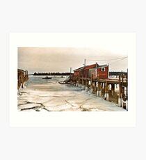 --Friendship Harbor, Maine -- Art Print