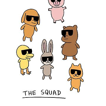 The Squad by ChubbyTown