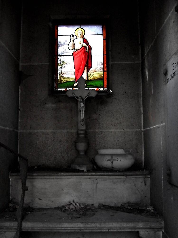 Crypt, Montmartre Cemetery. Paris, France. 2007 by jwhimages