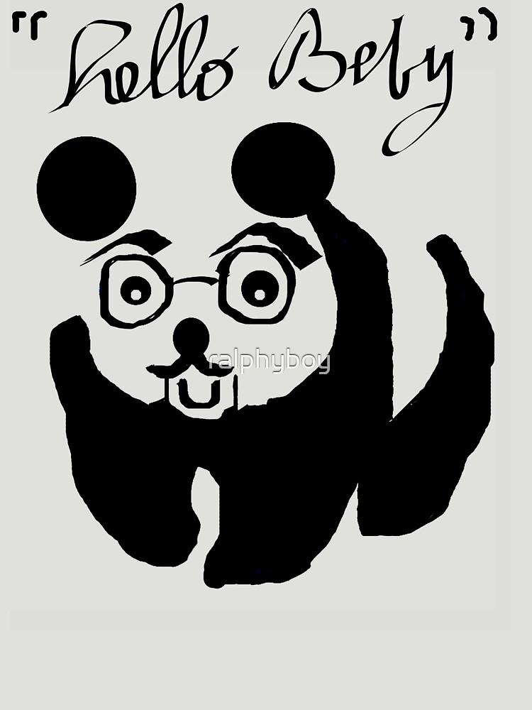 le panda by ralphyboy