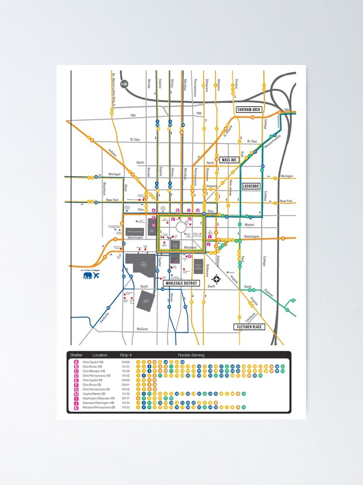 Indianapolis Downtown System Map - USA | Poster on greenwood indianapolis map, indianapolis street map, indianapolis township map, mass ave indianapolis map, indianapolis zip code map, central indianapolis map, indianapolis in map, new orleans central business district map, va hospital indianapolis map, north indianapolis map, holiday park indianapolis map, midtown indianapolis map, indianapolis state map, restaurants indianapolis map, white river state park map, ball state university parking map, washington square mall indianapolis map, jw marriott indianapolis map, indianapolis cultural districts map, indiana map,