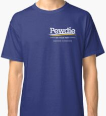 Subscribe to Pewdiepie merch Classic T-Shirt