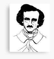 Edgar Allen Poe Leinwanddruck