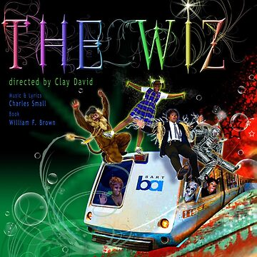 THE WIZ (theatre poster) by DeepRedTiger