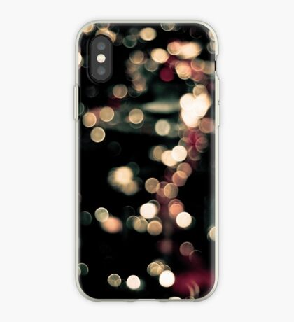 Vintage Bokeh Lights iPhone Case