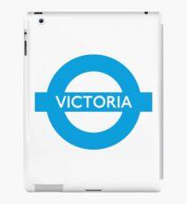 Victoria Line - London Underground Roundel iPad Case/Skin