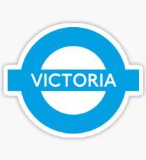 Victoria Line - London Underground Roundel Sticker
